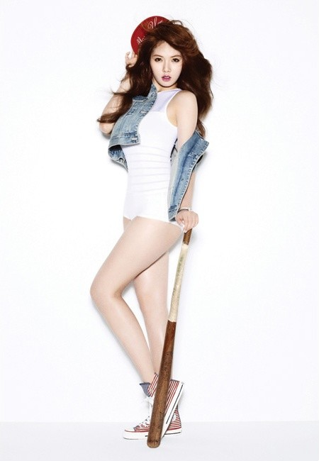 K-POP: Hyuna - Bubble Pop (Photoshoot)  K-POP: Hyuna - ...