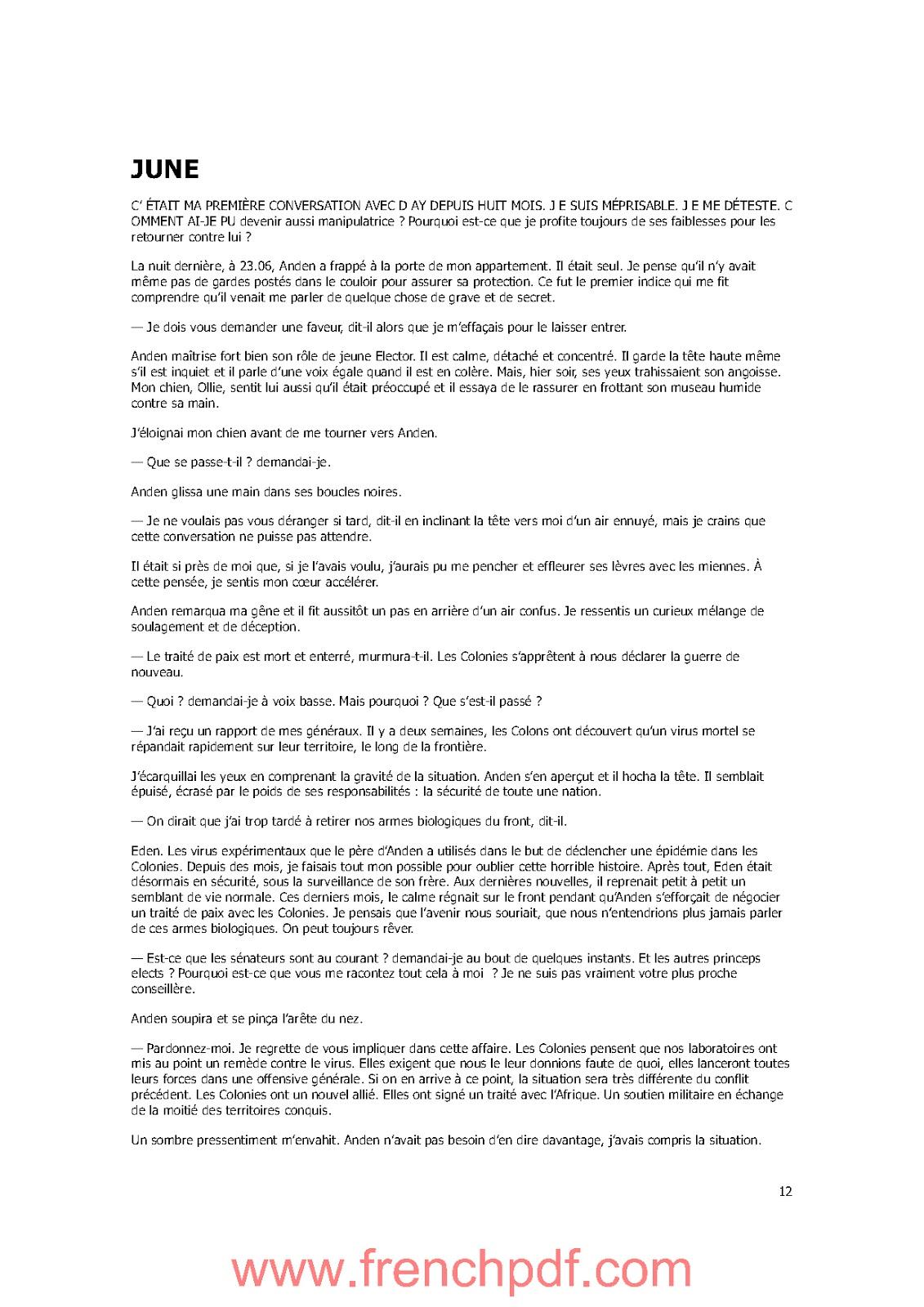 Roman: Champion Tome 3 de Mari Lu PDF Gratuit