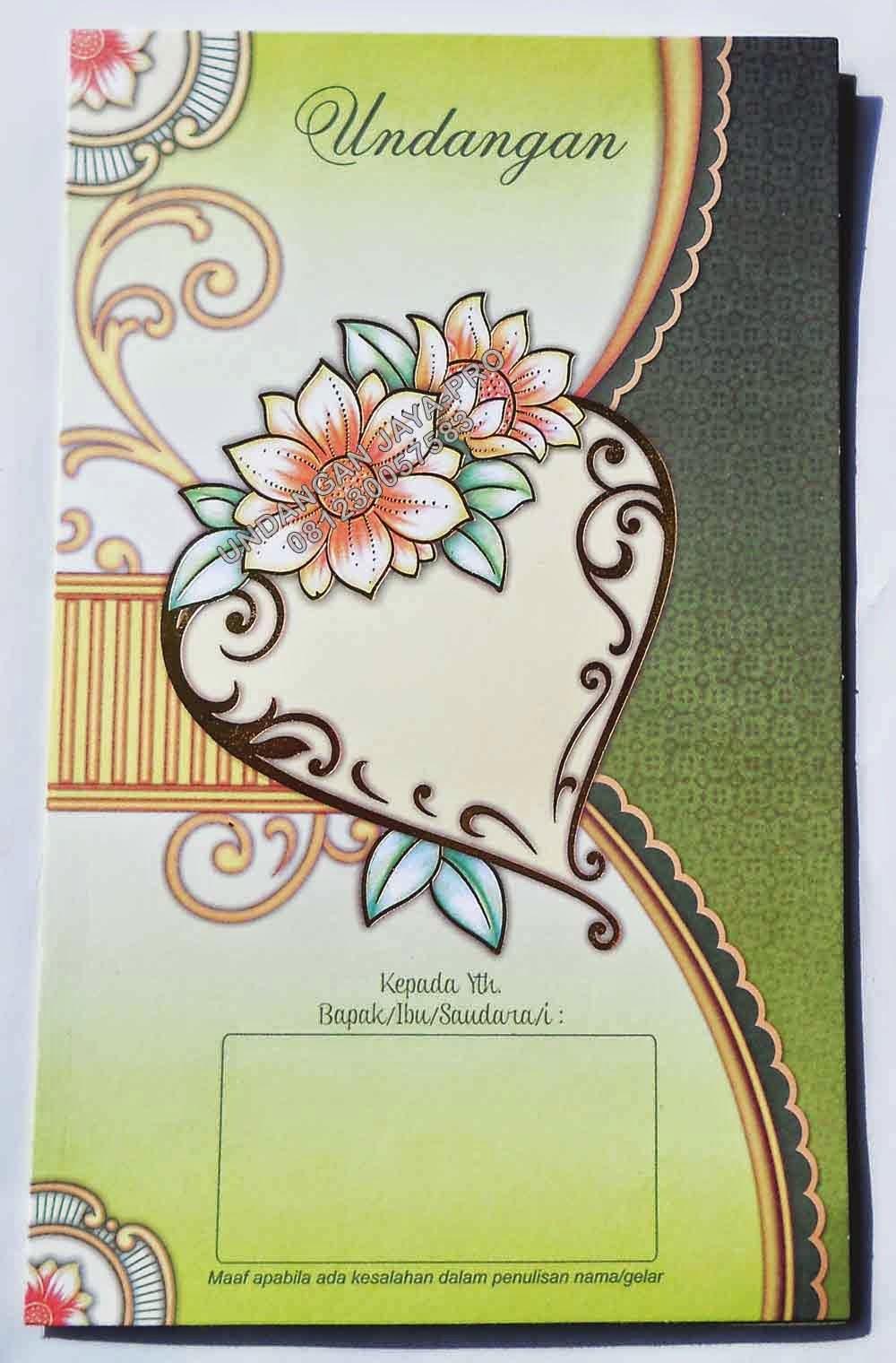 Desain Undangan Pernikahan Harga 2000