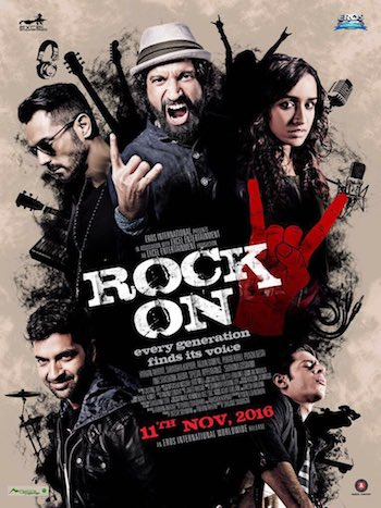 Rock On 2 (2016) Worldfree4u - Hindi Movie DVDScr 400MB - Khatrimaza