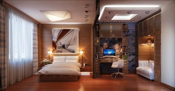 Habitaciones modernas de diseño para solteros