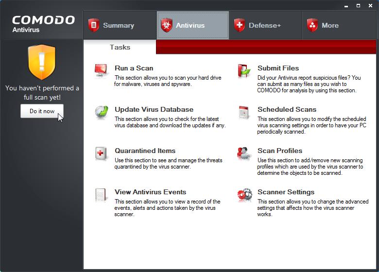 Comodo antivirus 2013 free download full version
