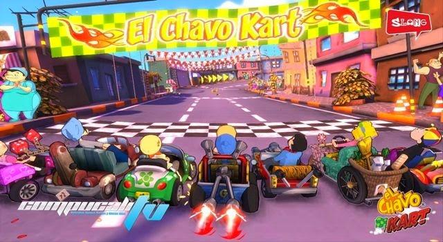 El Chavo Kart Xbox 360 Region Free Latino