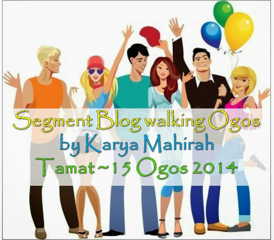 Segment Blogwalking by Karya Mahirah