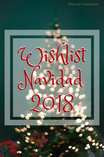Mi wishlist de Navidad 2018