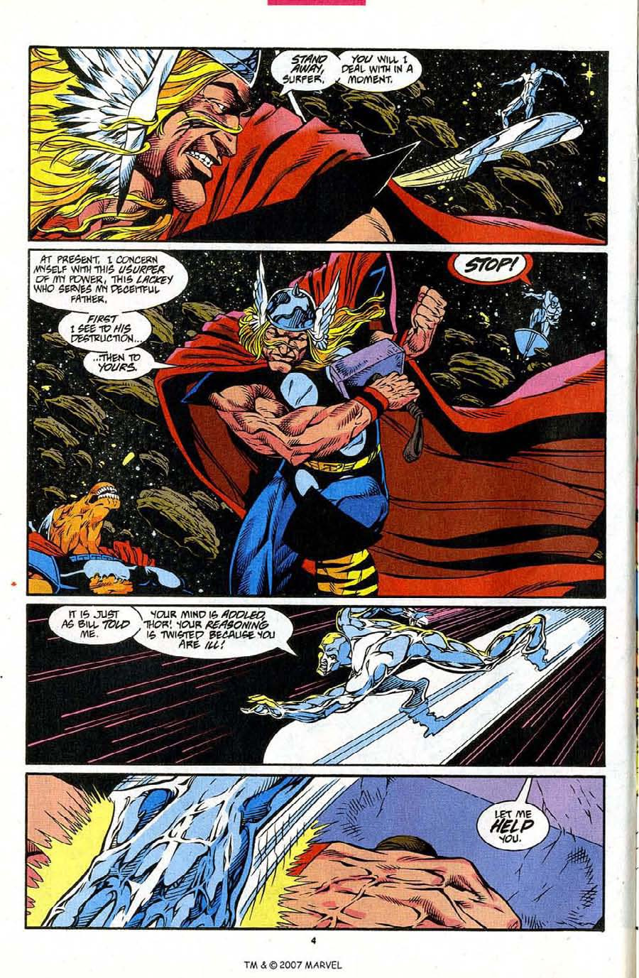 Read online Silver Surfer (1987) comic -  Issue #86 - 6