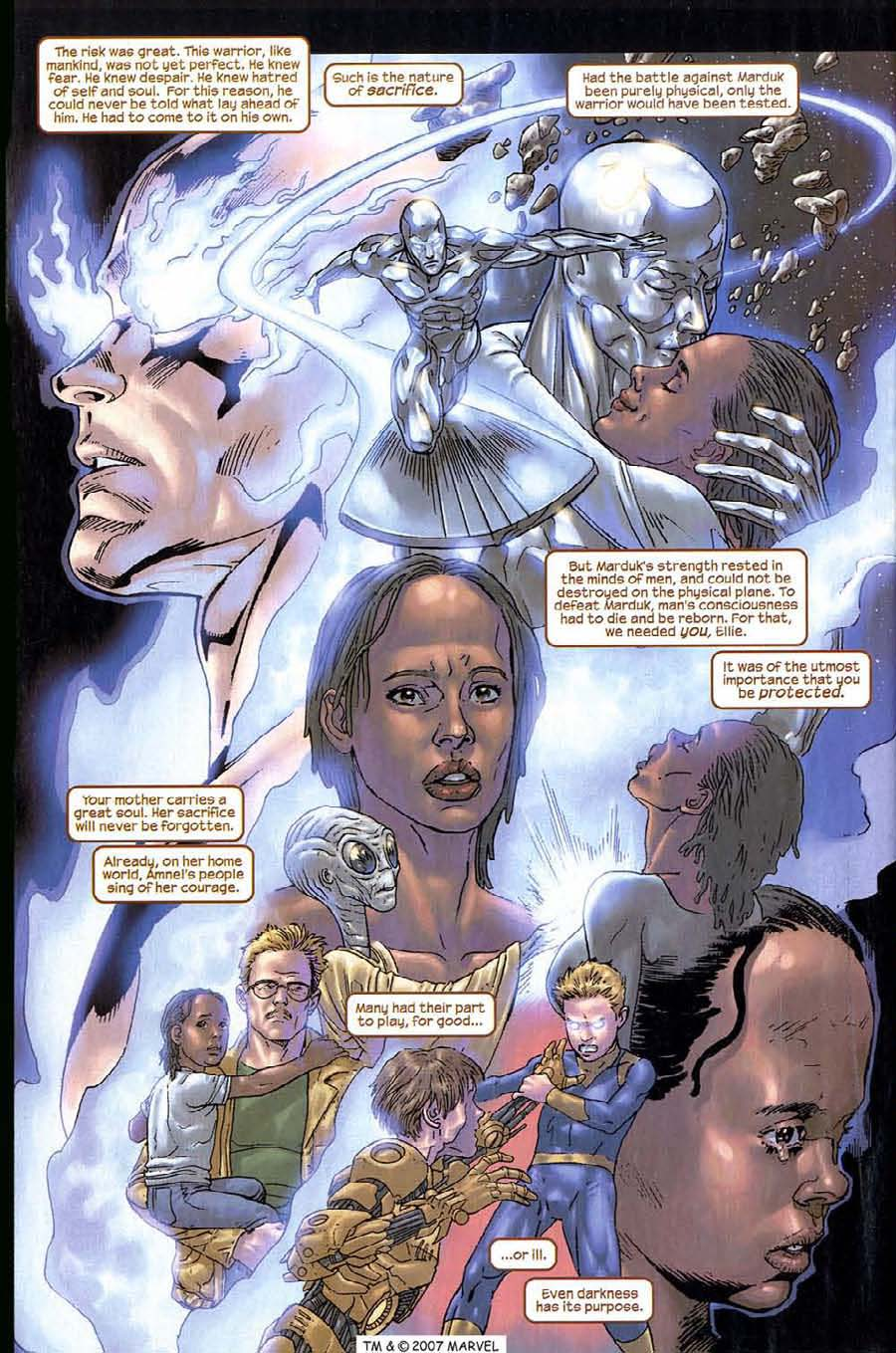 Read online Silver Surfer (2003) comic -  Issue #14 - 28