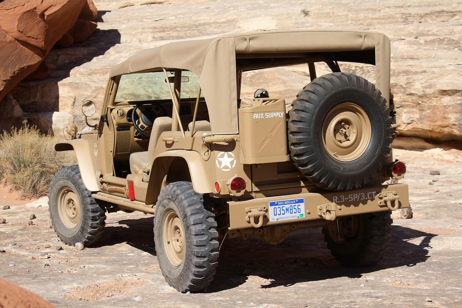 Jeep Staff Car: Moab Easter Jeep Safari