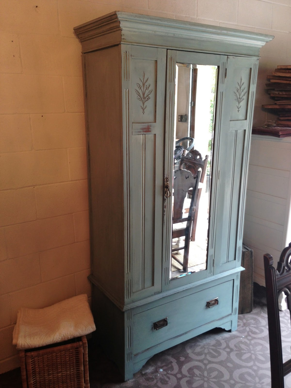 Armoire Easy But Repurposed Gems A Simple Armoire