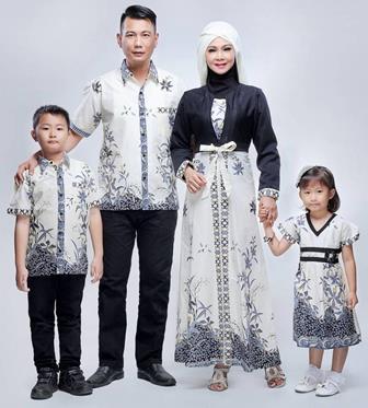 Model Baju Batik Couple Untuk Acara Keluarga