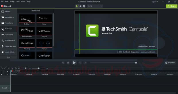 تحميل برنامج Download Insttal camtasia studio 9