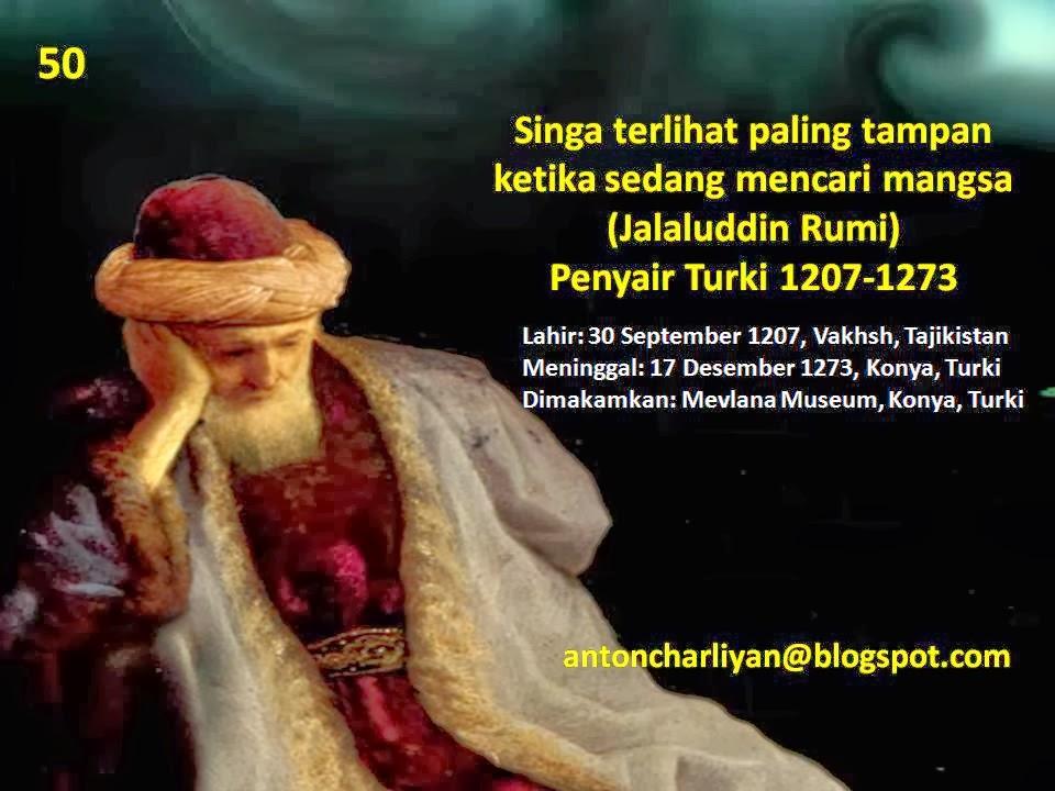 Kata Mutiara Para Tokoh Dunia  Jalaluddin Rumi Turki
