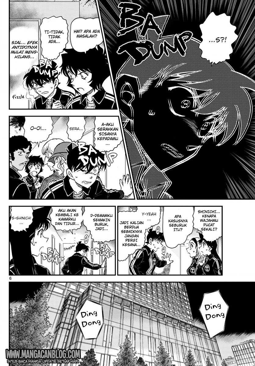 Detective Conan Chapter 1001-5