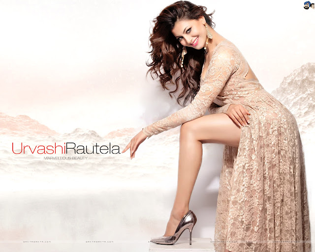 Urvashi Rautela Sexy Dress Wallpapers