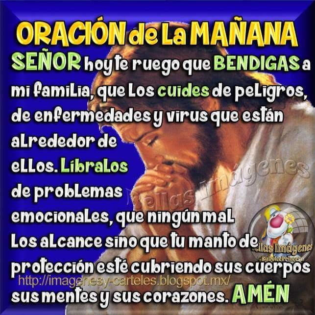 Oracion De La Manana Buenos Dias Mensajes Para Tu Muro
