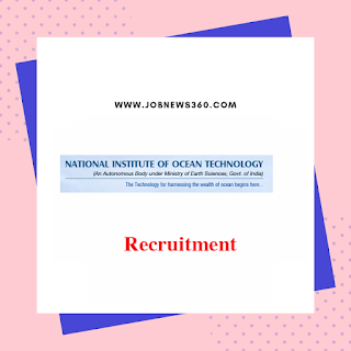 NIOT Chennai Recruitment 2019 - Salary up to 1.5 Lakhs per month