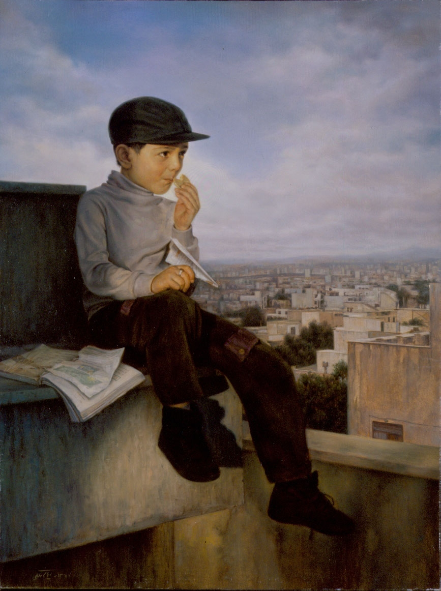 02-End-of-examinations-Iman-Maleki-Realistic-Paintings-that-Portray-Intense-Expressions-www-designstack-co