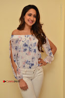 Actress Pragya Jaiswal Latest Pos in White Denim Jeans at Nakshatram Movie Teaser Launch  0044.JPG