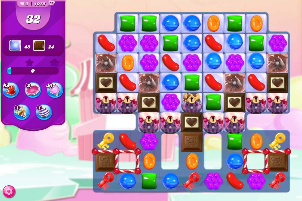 Candy Crush Saga level 4079