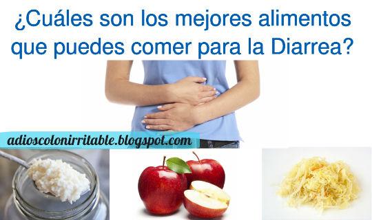 Alimentos que puedes comer para acabar con la Diarrea