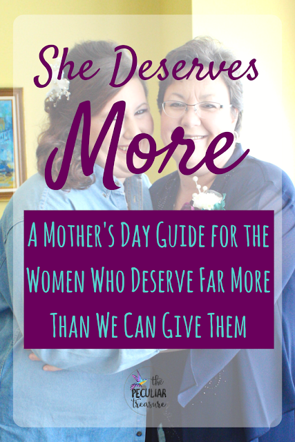 A Mother's Day Gift Guide for the Women Who Deserve More Than We Can Give