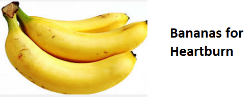 Health Benefits of Banana fruit - Bananas for Heartburn