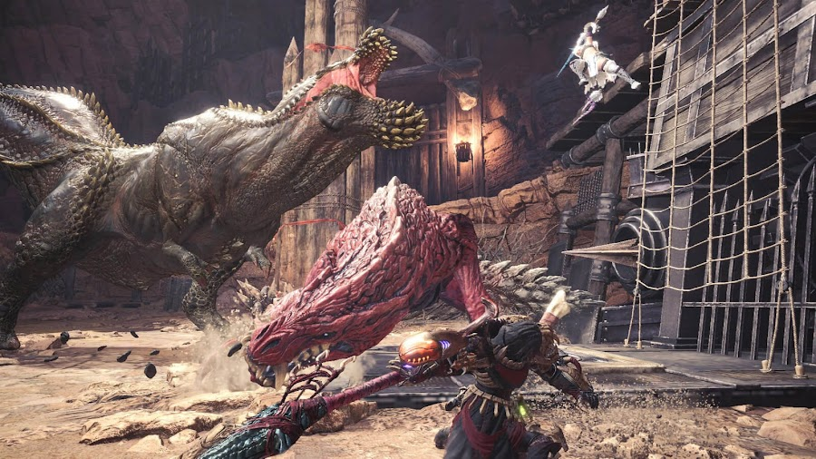 monster hunter world assassins creed sdf quest crossover event
