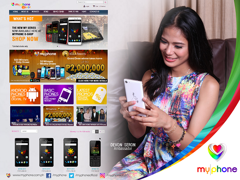 MyPhone O-Shop Launched