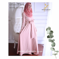 NUURA DRESS WHITE COFFEE