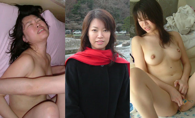 Lovely Japanese wife's juicy pussy and dildo masturbation, disgusting extramarital sex leaked (16pix)