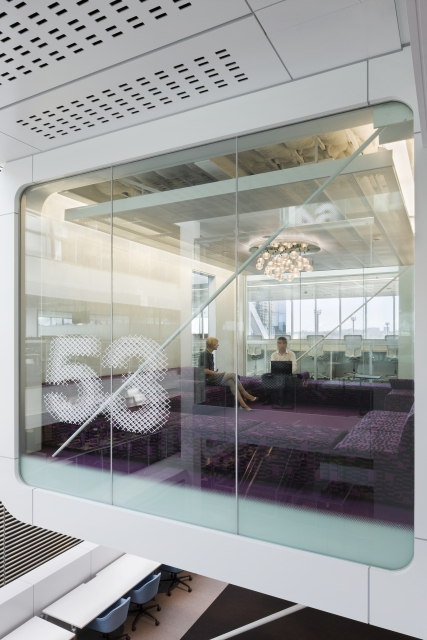 Photo of an office 53 with glass walls