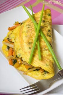 (Omlet z warzywami po wietnamsku