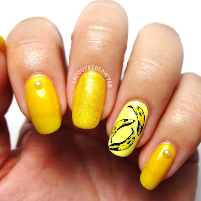 Banana-rama Nail Art