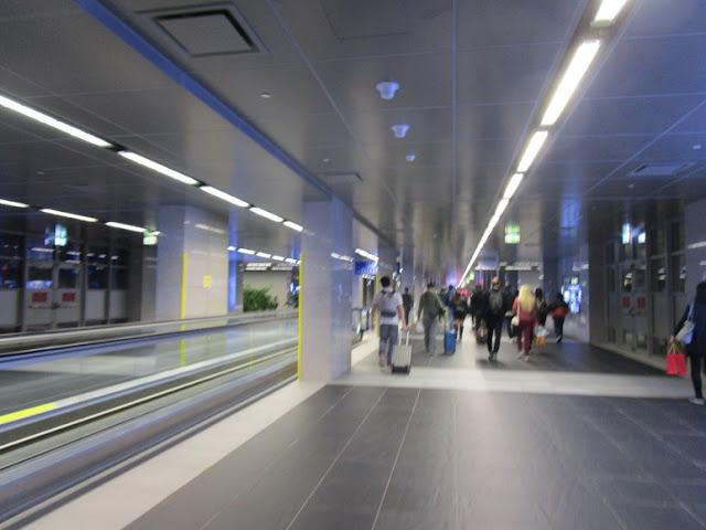 タイパフェリーターミナル 到着