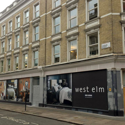 West Elm Christmas Display.Print Pattern West Elm Opening In London Dec 5th