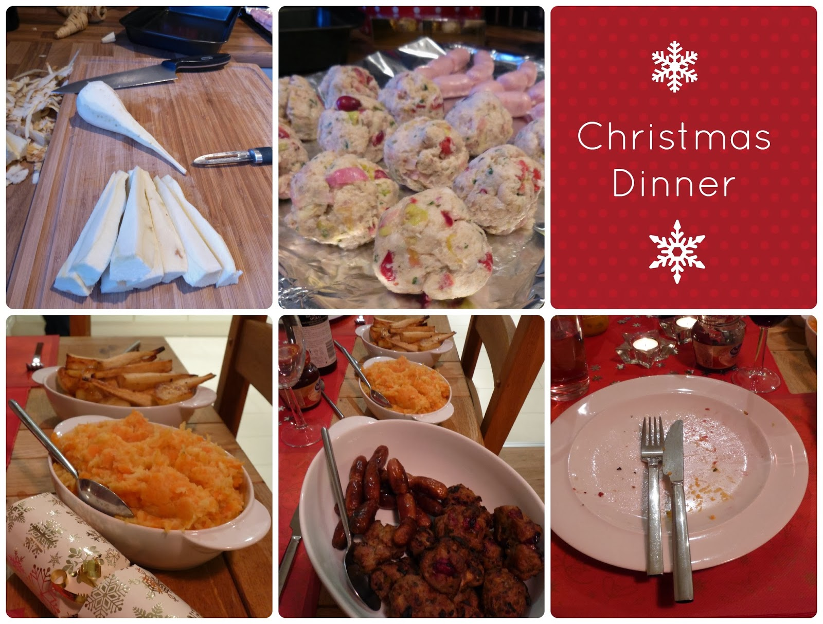 Our Christmas Dinner - Grow Our Own