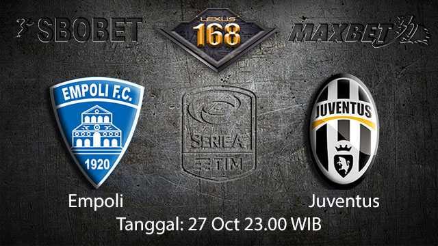 Prediksi Bola Jitu Empoli vs Juventus 27 October 2018 ( Italian Serie A )