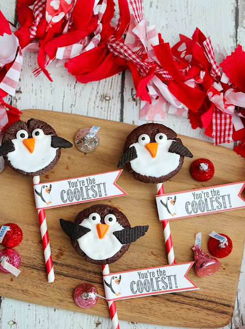 Penguin Valentines Day Treats