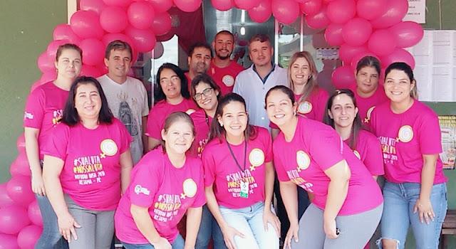 Iretama: Saúde realiza encerramento do Outubro Rosa