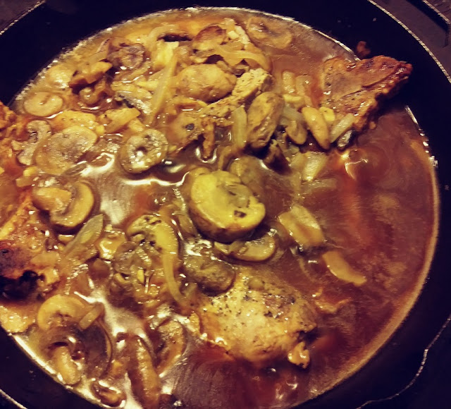 Cast Iron Skillet Pork Chop Recipe