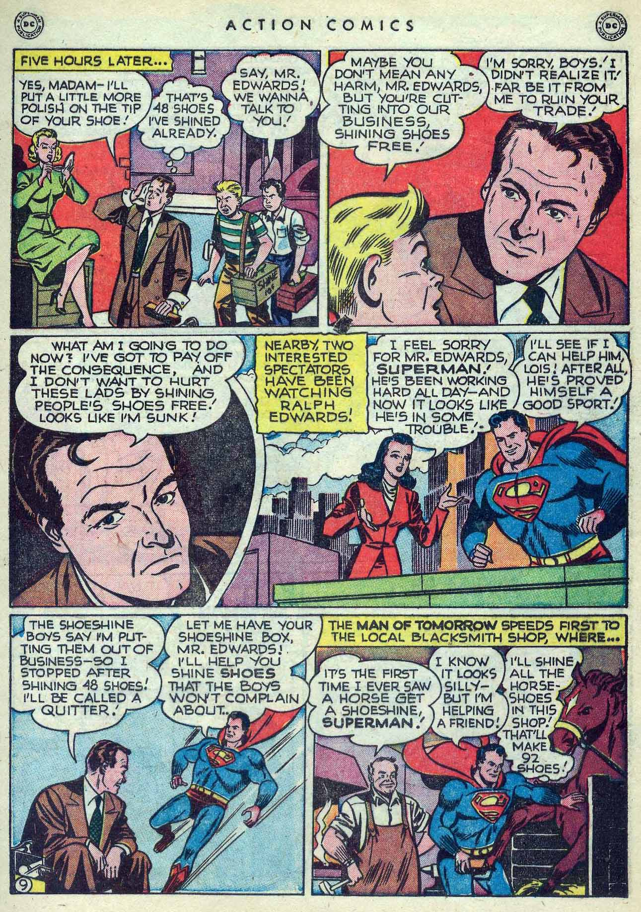 Read online Action Comics (1938) comic -  Issue #127 - 11