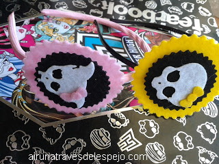 diadema monster high niña cabello