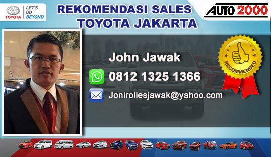 Rekomendasi Sales Toyota Kebon Jeruk Jakarta Barat