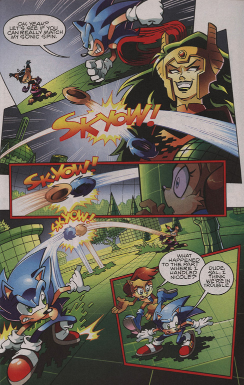 Read online Sonic The Hedgehog comic -  Issue #209 - 13