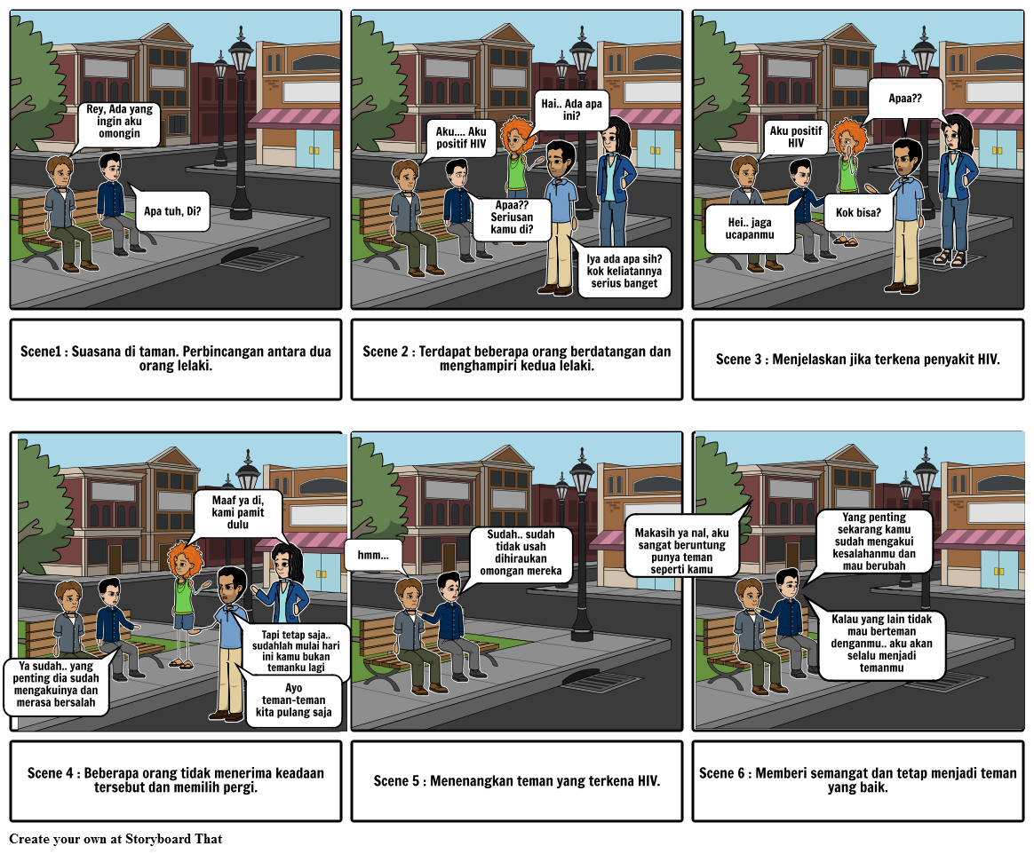 Contoh Storyboard Iklan Layanan Masyarakat Narkoba Siput Mer