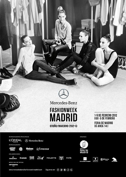 Calendario Mercedes Benz  Fashion Week Madrid Febr.-2012