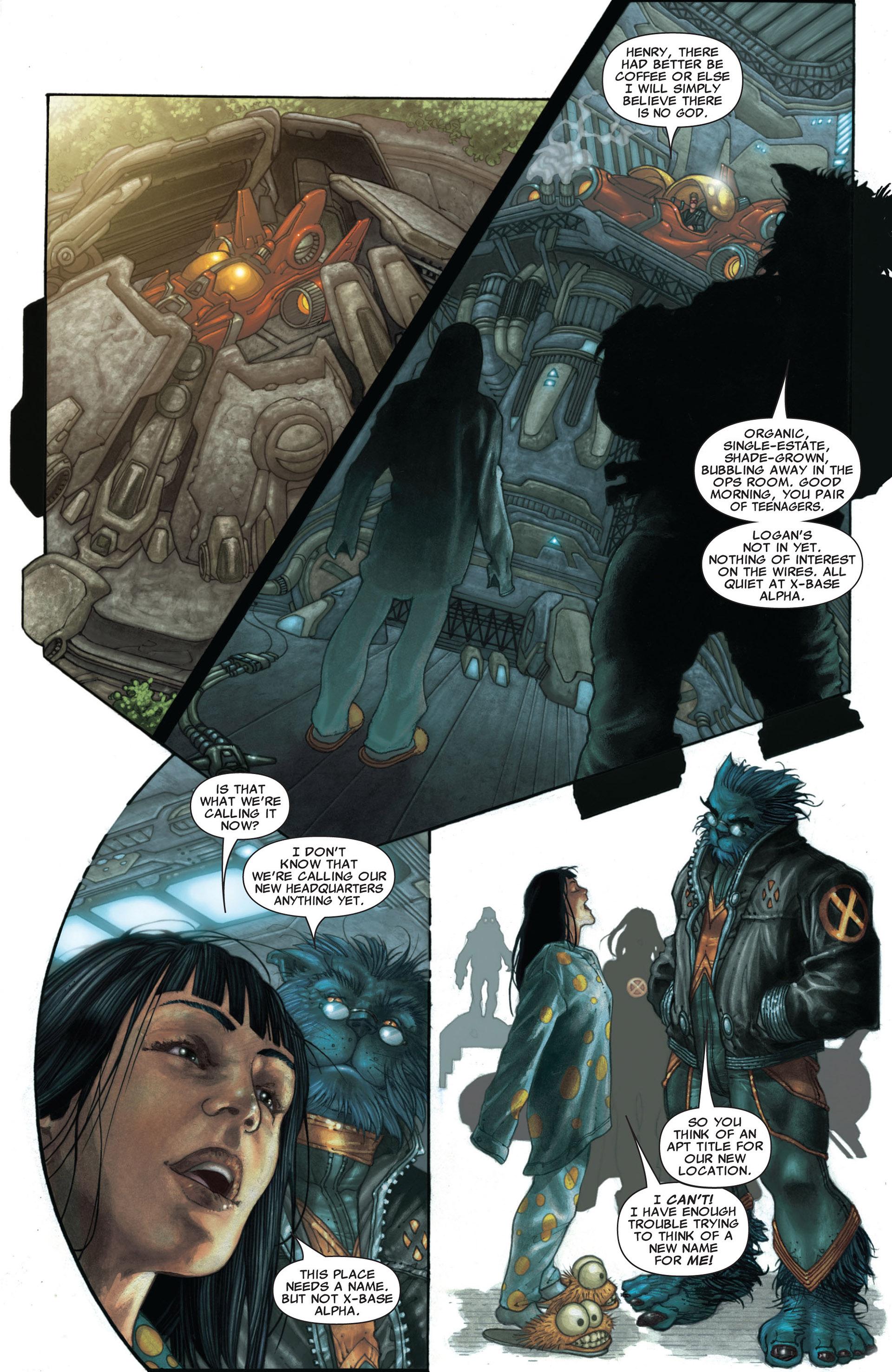 Read online Astonishing X-Men (2004) comic -  Issue #25 - 8