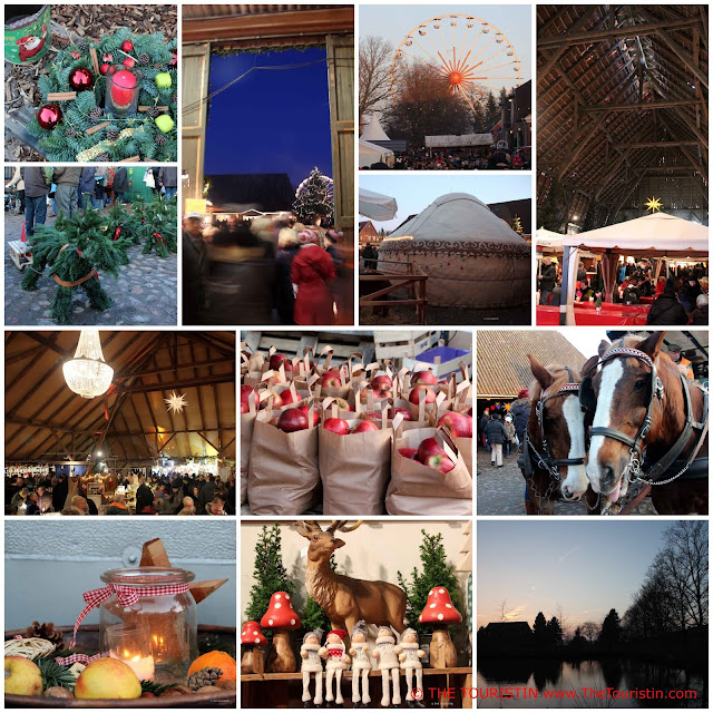 Gut Basthorst Hamburg Schleswig Holstein Germany Christmas Market