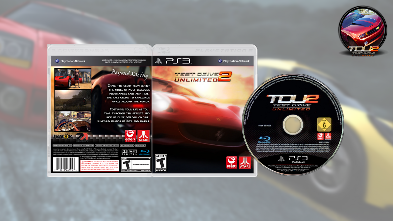 test drive unlimited 2 ps3 torrent download