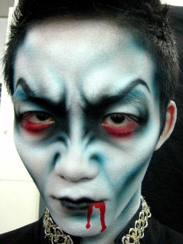 Happy Halloween Day: 28 Halloween Makeup Ideas For Men